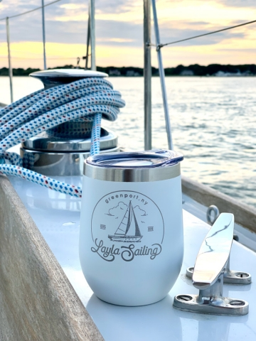 Layla sailing cups available for purchase.